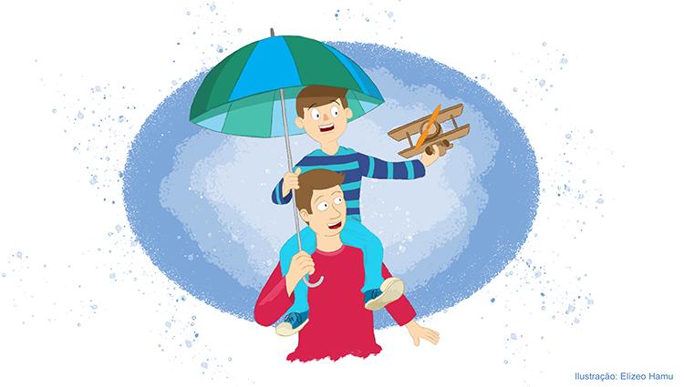 Imagem ilustrativa para o texto de Fabrícia Hamu sobre o Dia dos Pais