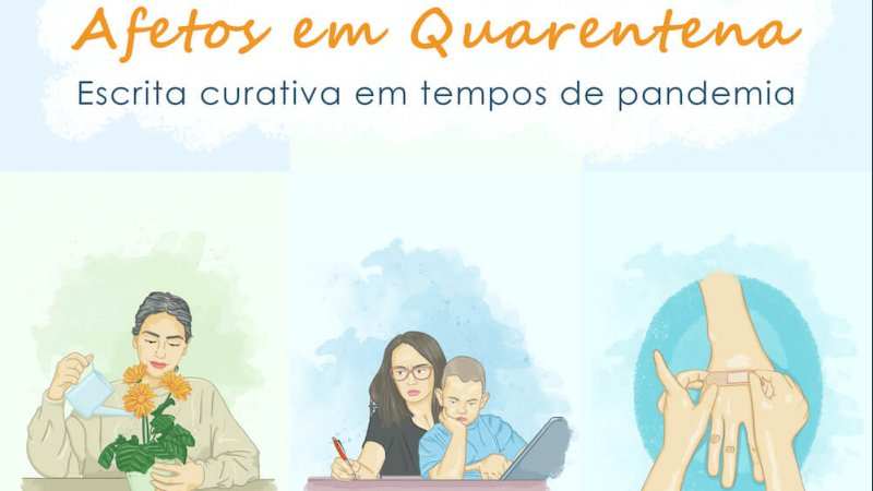 Capa do e-book Afetos em quarentena