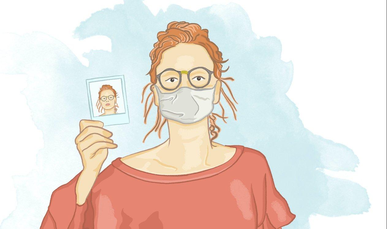 Estranheza é tema da ilustração de Elízeo Hamu para o blog Vida de Adulto