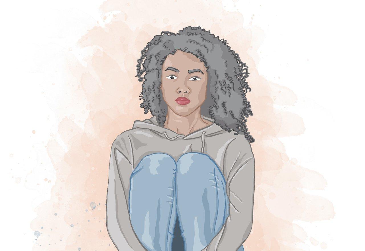 Ilustração de Elízeo Hamu para o blog Vida de Adulto é sobre introspecção e solidão