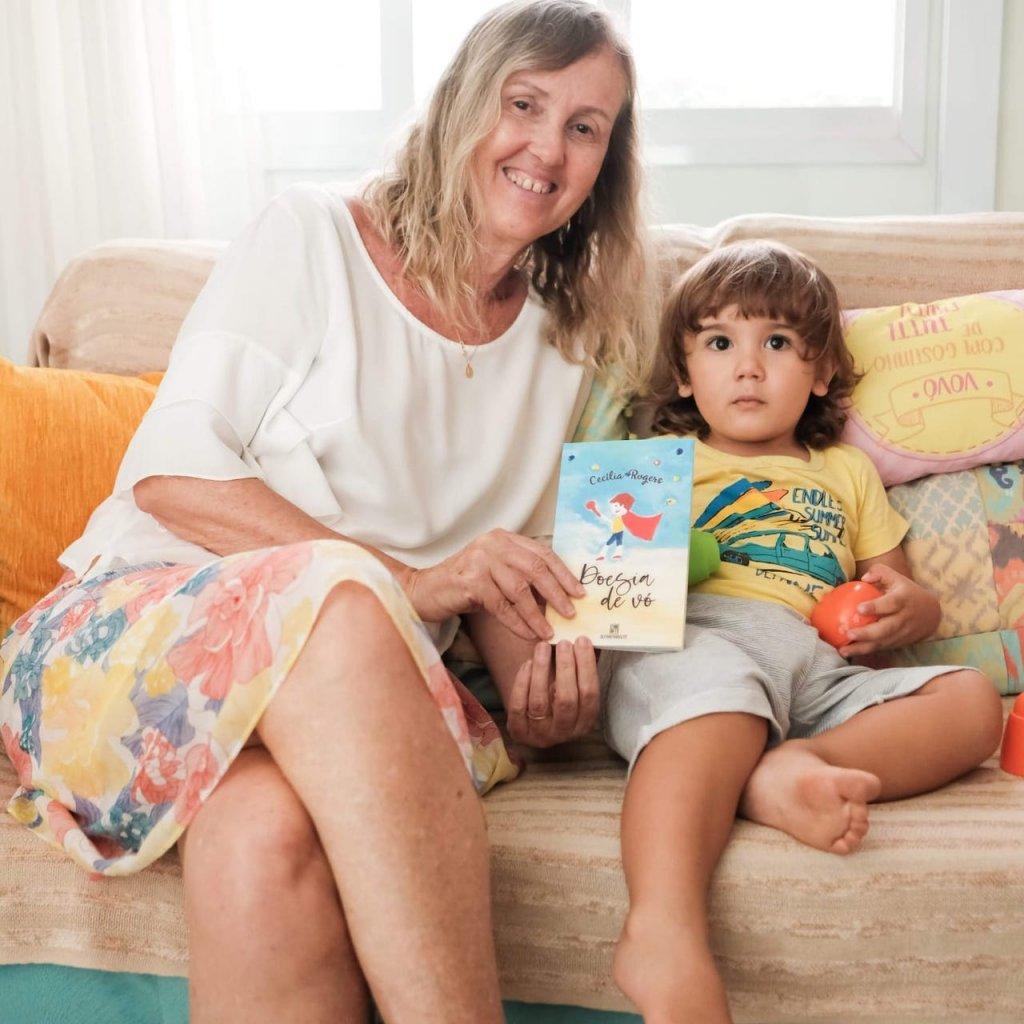 Cecília Rogers escreve o texto Meu neto Tomás