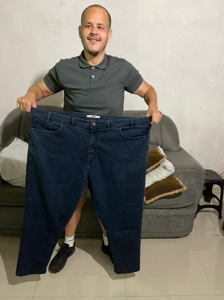 Ricardo Faria escreve sobre obesidade e os 70 quilos que perdeu